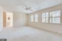 Master Bedroom - 20 X 13 - 8911 GLADE HILL RD, FAIRFAX