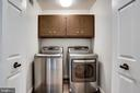 Washer/Dryer on Bedroom Level - 8911 GLADE HILL RD, FAIRFAX
