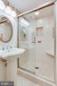 Lower Level Full Bath - 8911 GLADE HILL RD, FAIRFAX