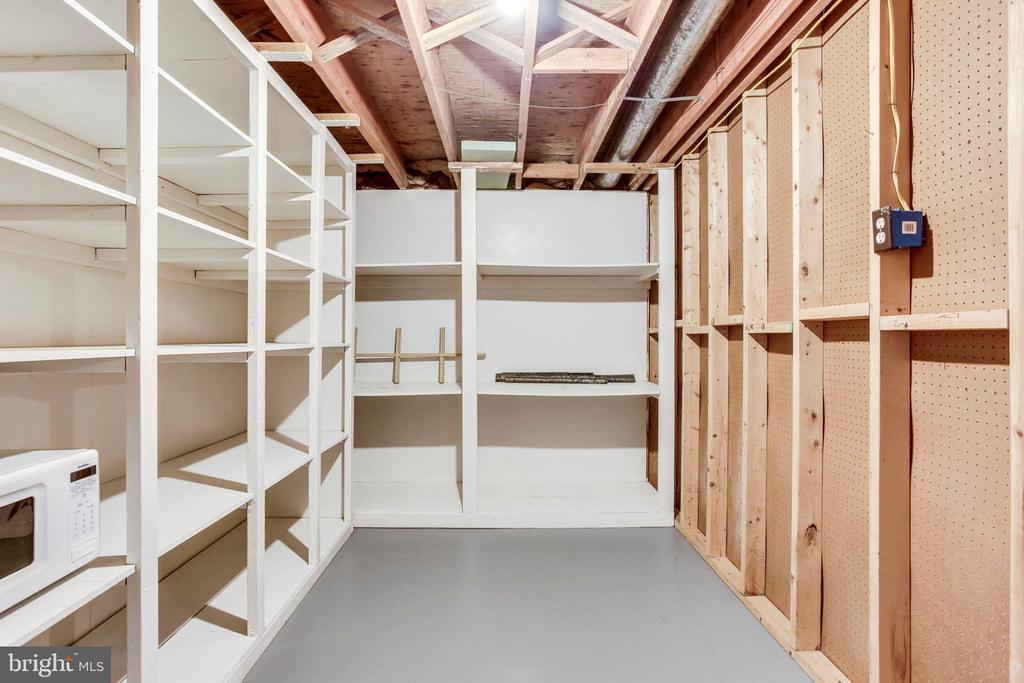 Basement Storage Room - 8911 GLADE HILL RD, FAIRFAX