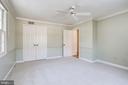 Bedroom 3 - 13x16 - 8911 GLADE HILL RD, FAIRFAX