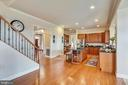 View of Kitchen and Stairway ~from Breakfast Area - 43547 BUTLER PL, LEESBURG