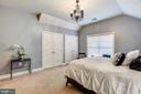 Second Bedroom with Double Closets - 43547 BUTLER PL, LEESBURG