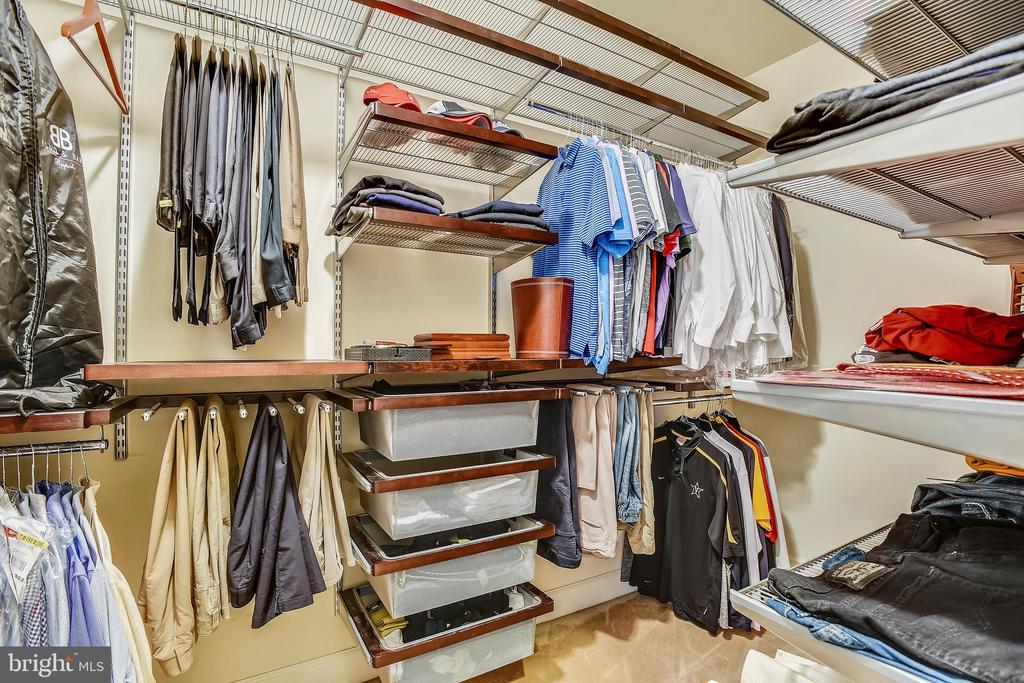 One of Two Walk-in Closets in the Master Suite - 43547 BUTLER PL, LEESBURG
