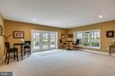 Recreation Rm - Triple French Doors to Rear Patio - 43547 BUTLER PL, LEESBURG