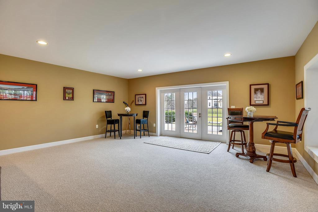 Large Recreation Room suitable for entertaining - 43547 BUTLER PL, LEESBURG