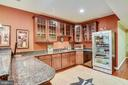 Wet Bar with Beverage Cooler - 43547 BUTLER PL, LEESBURG