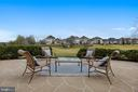 Patio with Views of 11th~Fairway - 43547 BUTLER PL, LEESBURG