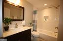Gorgeous new full bath in lower level - 16600 FERRIERS CT, LEESBURG