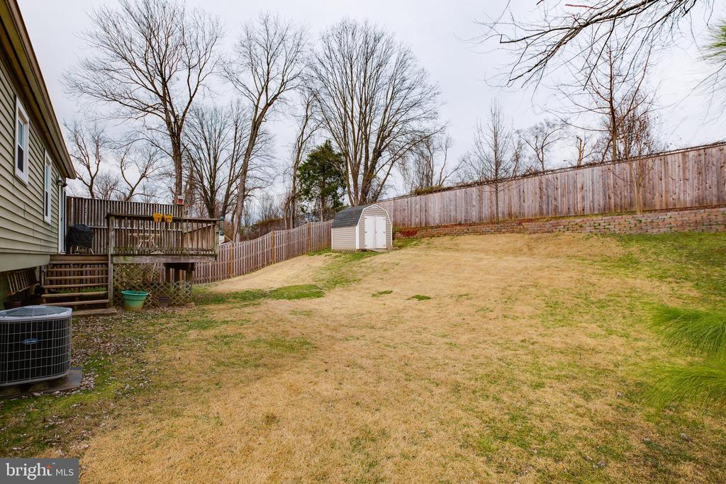 Fenced backyard - 13131 BEAVER TER, ROCKVILLE