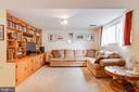 Basement family room - 13131 BEAVER TER, ROCKVILLE