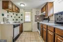 Lower level kitchen with outside entrance - 3232 13TH ST S, ARLINGTON