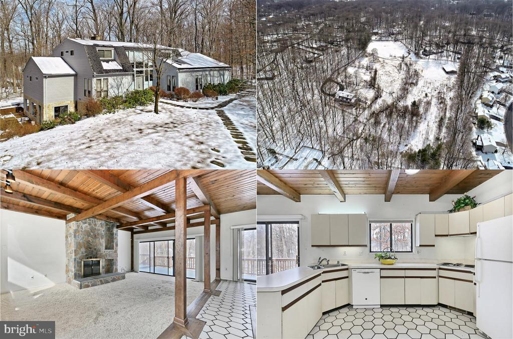 Fantastic 6 BR Home, 8 Stall Stable, 10 Acres! - 3666 RUSSELL RD, WOODBRIDGE
