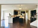 Gourmet Kitchen - Gas cooktop. double wall ovens - 8619 KITTAMA DR, CLINTON