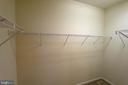 Master has large walk in closet . - 16 TURTLE CREEK WAY, FREDERICKSBURG