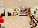 Large basement can adjust 50+ people - 46909 BACKWATER DR, STERLING