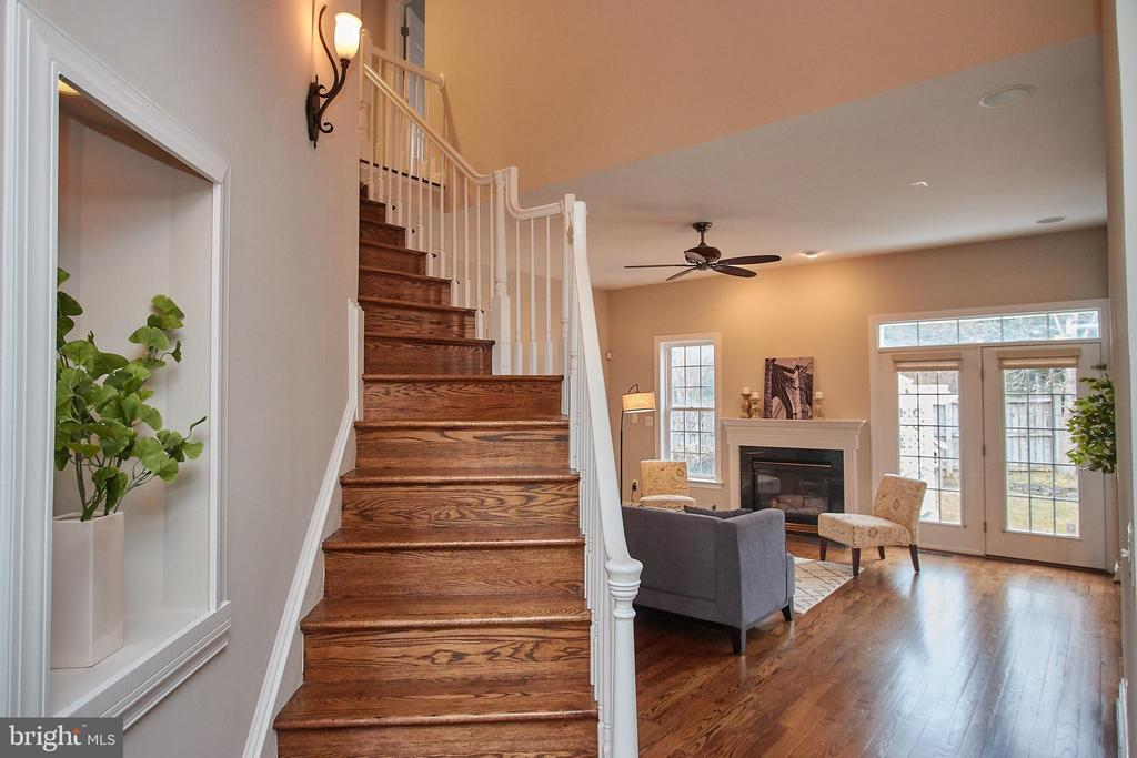 Head upstairs to 4 bedrooms & 3 Full Bathrooms - 7616 CENTER ST, FALLS CHURCH
