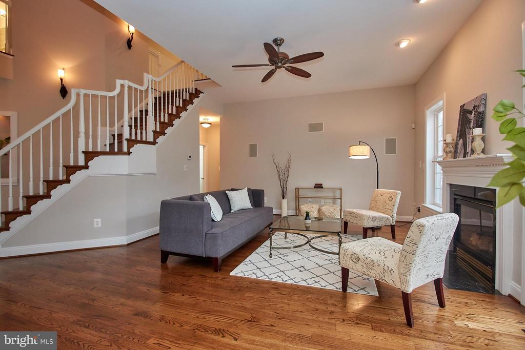 Family Room off of  Kitchen - 7616 CENTER ST, FALLS CHURCH