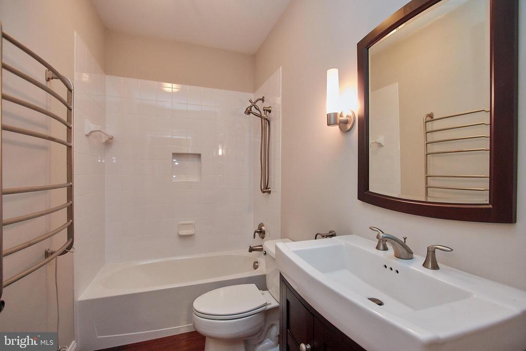 Full Bathroom in Basement - 7616 CENTER ST, FALLS CHURCH