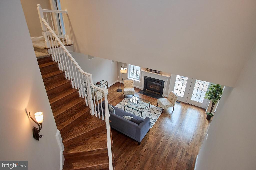 View of Stairs - 7616 CENTER ST, FALLS CHURCH