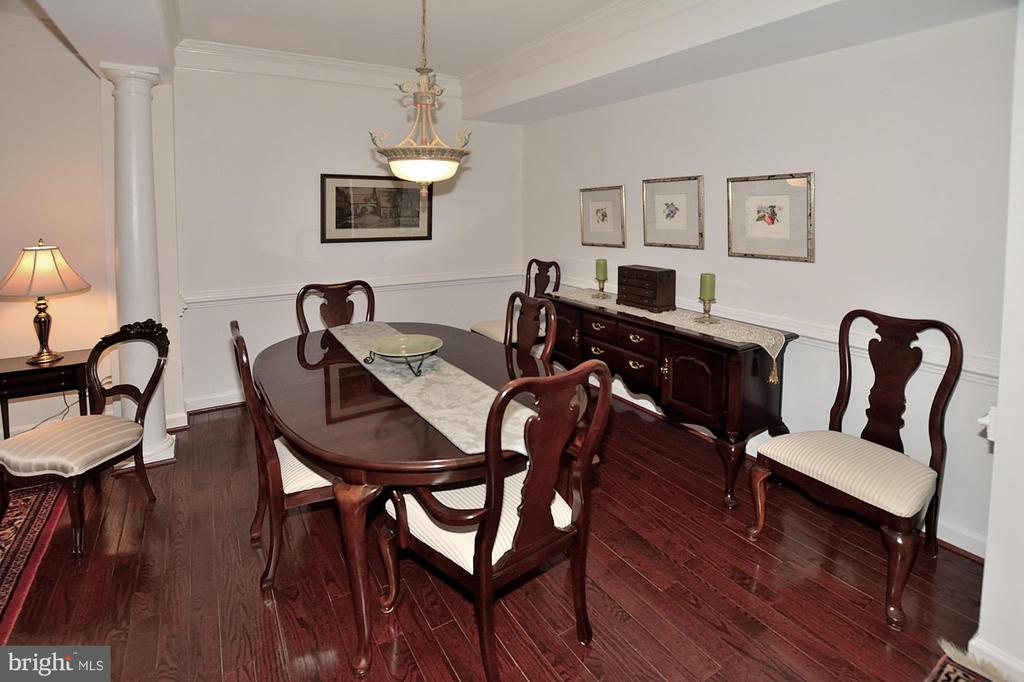 Freshly Painted Dining Room - 2524 BRENTON POINT DRIVE, RESTON