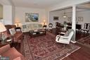 Large entertaining L/R with gorgeous hardwood flrs - 2524 BRENTON POINT DRIVE, RESTON