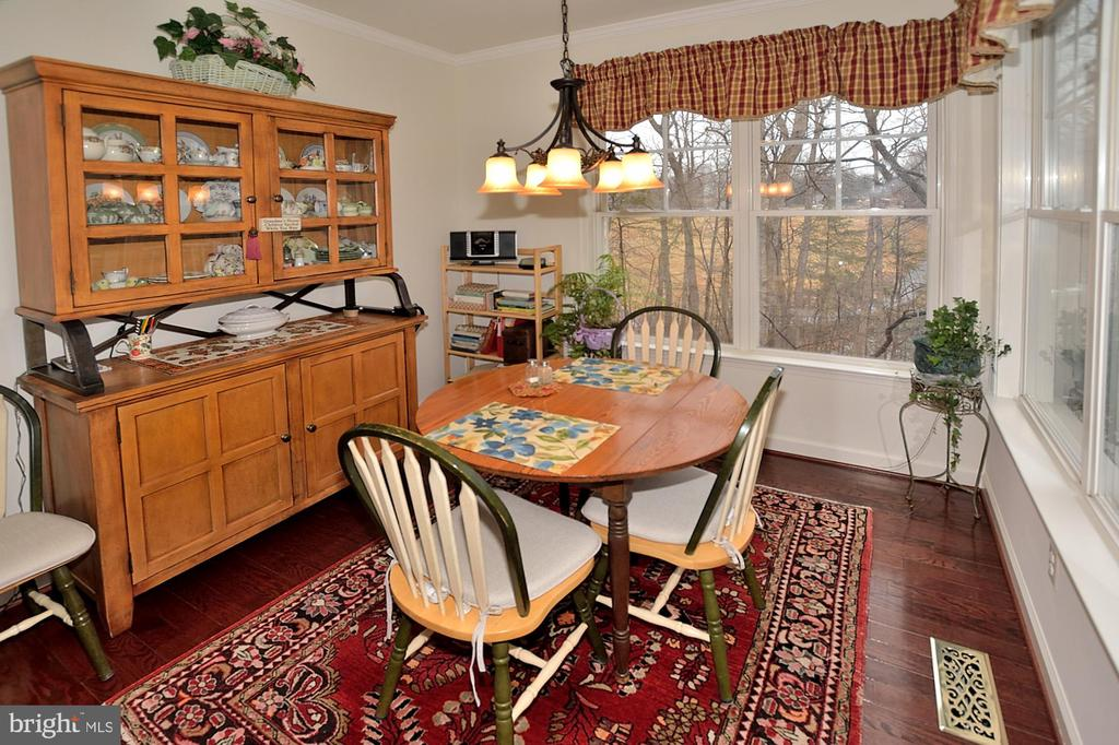 Plenty of space for kitchen table - 2524 BRENTON POINT DRIVE, RESTON