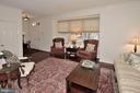 Living Room with foyer & powder room - 2524 BRENTON POINT DRIVE, RESTON