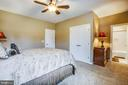 Bedroom 2 with private bath - 90 LUPINE DR, STAFFORD