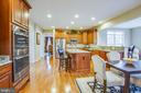 State-of-the-art kitchen - 90 LUPINE DR, STAFFORD