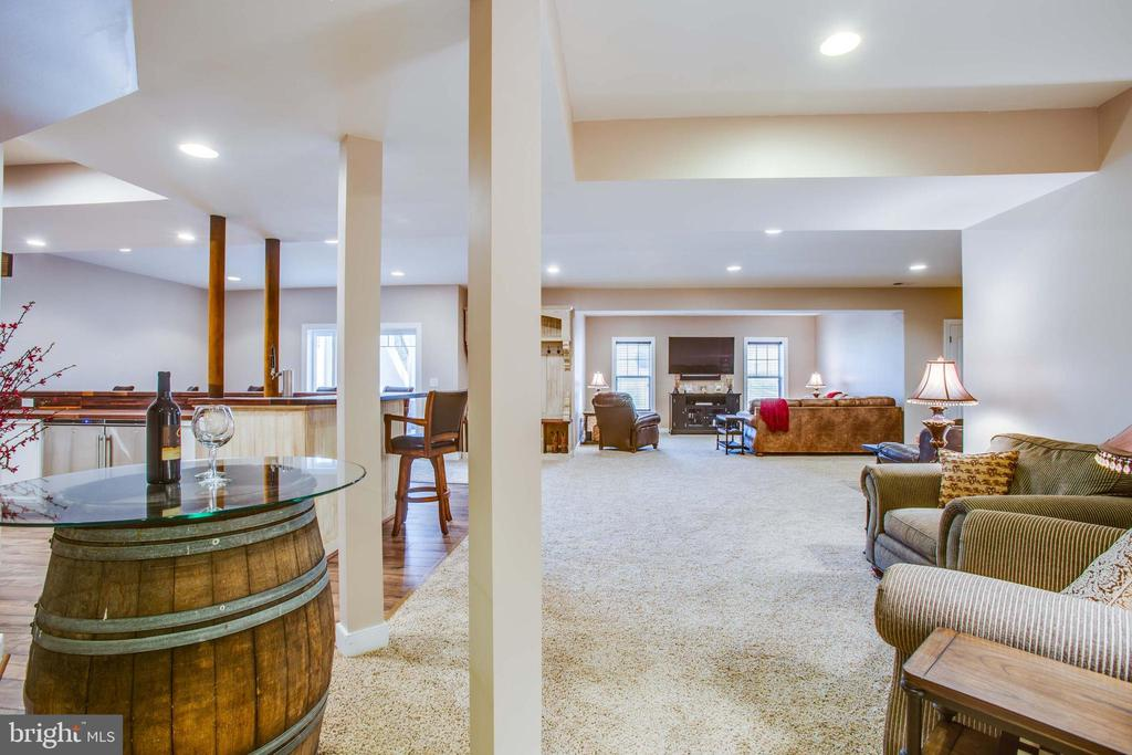 Expansive rec room area - 90 LUPINE DR, STAFFORD