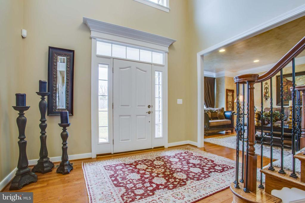 Grand two-story open foyer - 90 LUPINE DR, STAFFORD