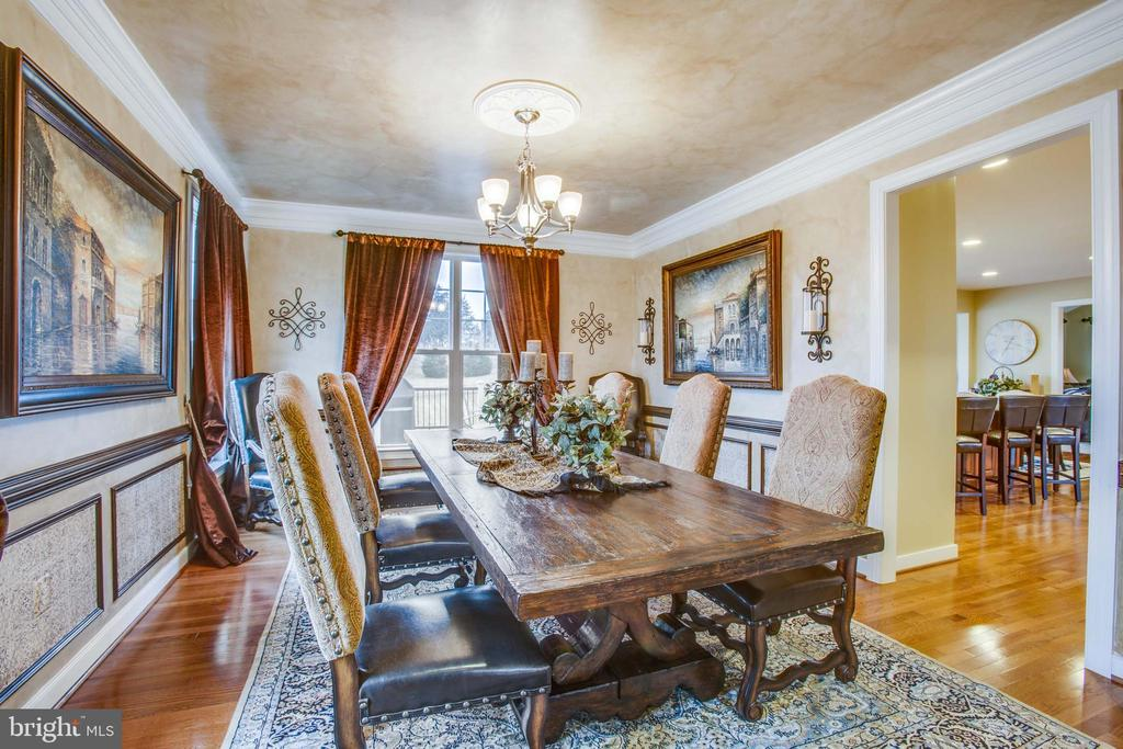 Dining room  conveniently located off of kitchen - 90 LUPINE DR, STAFFORD