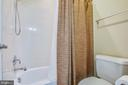 Enclosed shower/tub and toilet in Jack n' Jill - 90 LUPINE DR, STAFFORD