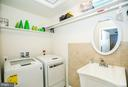 Laundry room with sink - 2565 PASSIONFLOWER CT, DUMFRIES