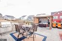 Spacious patio, made for entertaining - 2565 PASSIONFLOWER CT, DUMFRIES