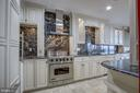 Gourmet kitchen with top of the line appliances - 1200 CRYSTAL DR #1712, ARLINGTON