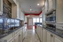 Granite counters and  backsplash - 1200 CRYSTAL DR #1712, ARLINGTON