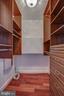 Walk in foyer/hall closet with built-ins - 1200 CRYSTAL DR #1712, ARLINGTON