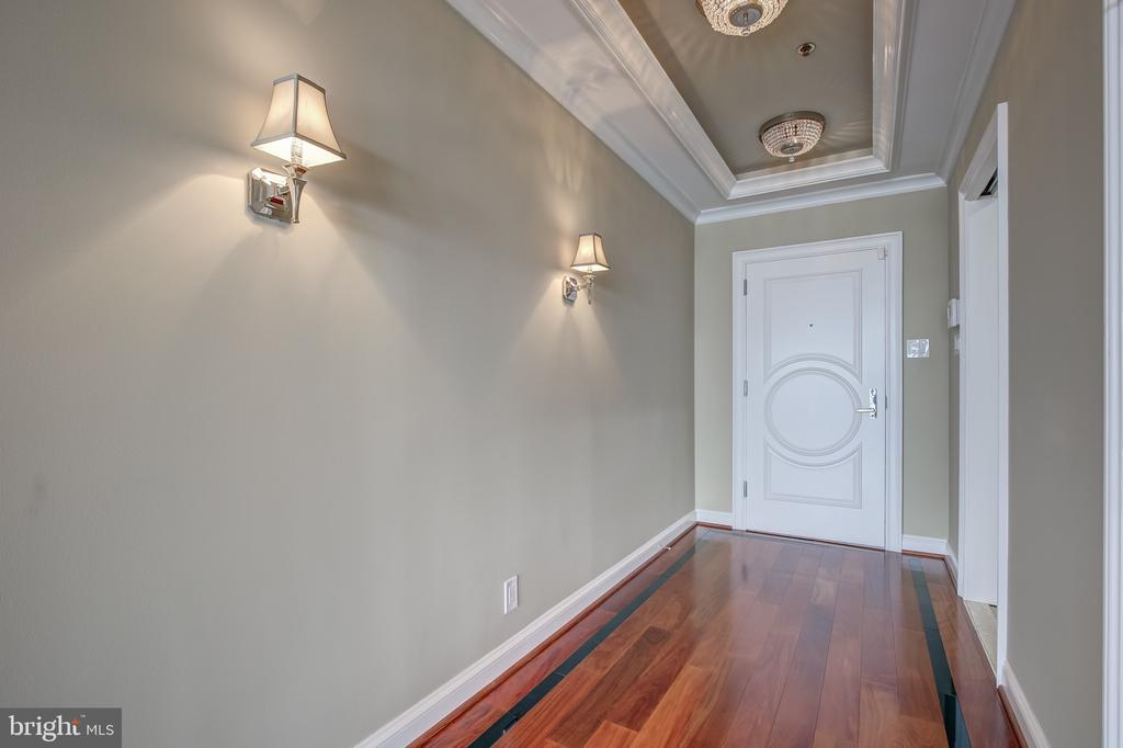 Custom doors throughout - 1200 CRYSTAL DR #1712, ARLINGTON