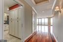 Beautiful Brazilian Cherry floors - 1200 CRYSTAL DR #1712, ARLINGTON