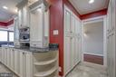 Lighted glass cabinets - 1200 CRYSTAL DR #1712, ARLINGTON