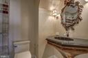 Full, upgraded hall bath. - 1200 CRYSTAL DR #1712, ARLINGTON