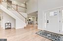 Open Staircase to Upper Level - 10526 HUNTERS VALLEY RD, VIENNA