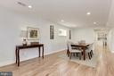 Dining Space could be used as TV nook. - 10526 HUNTERS VALLEY RD, VIENNA