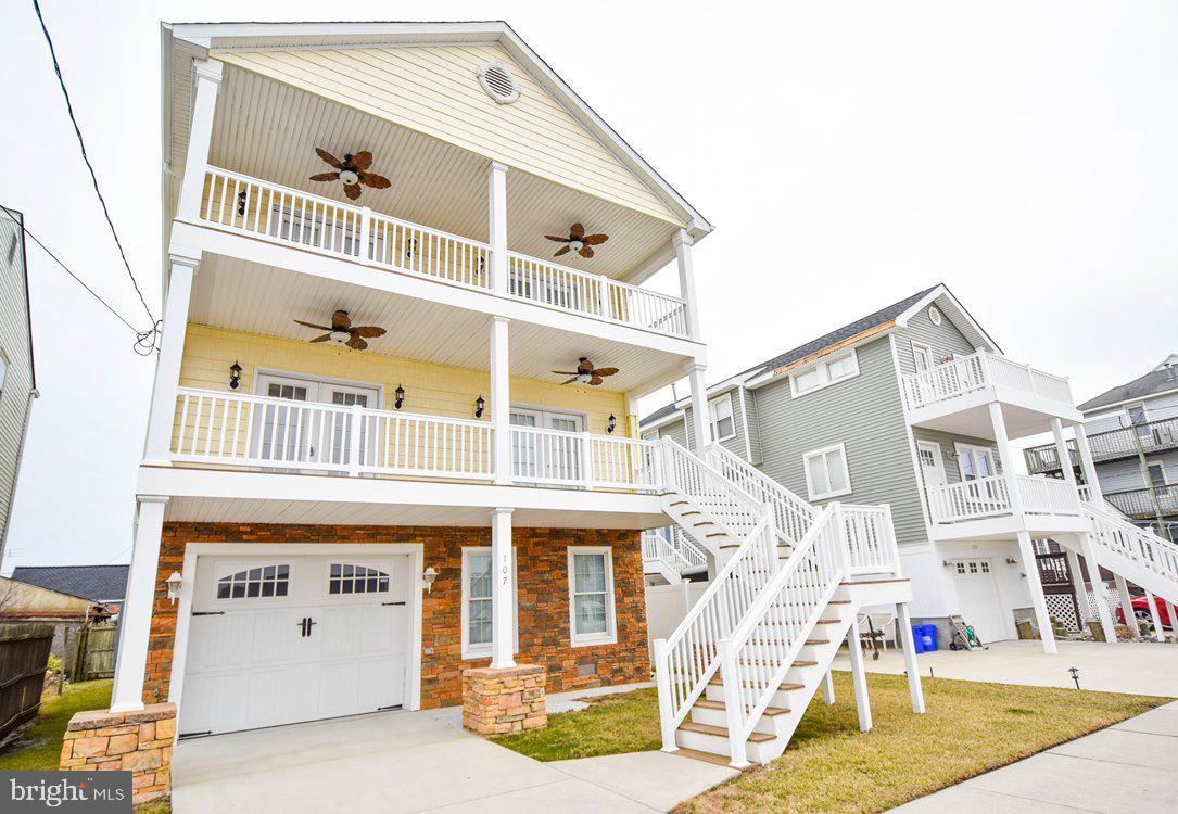 Single Family Homes للـ Sale في Ventnor City, New Jersey 08406 United States