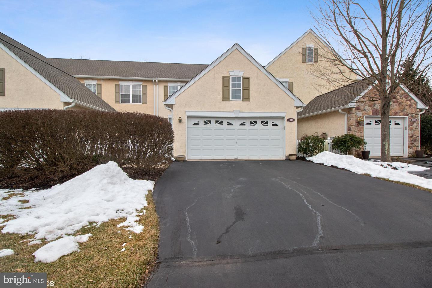 Photo of home for sale at 1013 Ingram Court, Ambler PA