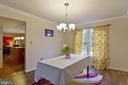 Dining room - 3860 WERTZ DR, WOODBRIDGE