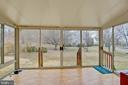 Sun room - 3860 WERTZ DR, WOODBRIDGE
