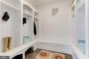 MUD ROOM - 9165 OLD DOMINION DR, MCLEAN